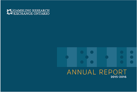 Title page of the 2015-16 GREO Annual Report